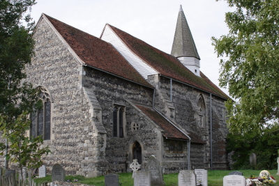 St Mary's from the North side